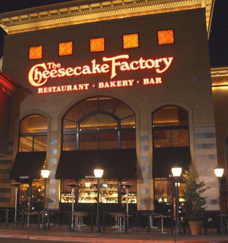 Winward Lakes Cheesecake factory
