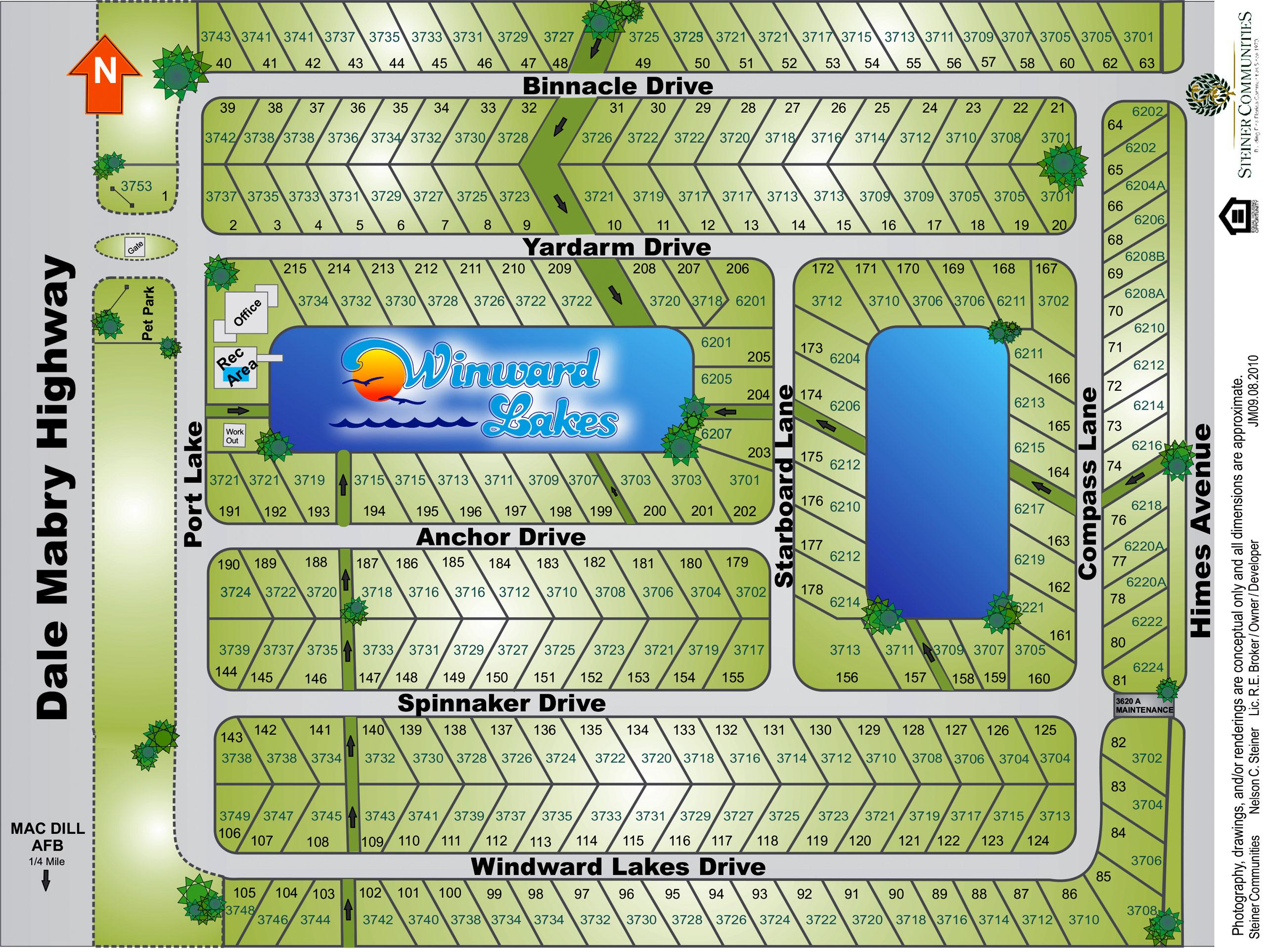 Winward Comminity Map Image